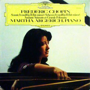 LP - Chopin, Frederic Sonate B-Moll / Scherzo B-Moll / Andante Spianato Et Grande Polonaise