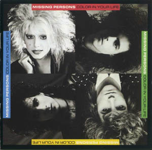 CD - Missing Persons Color In Your Life