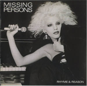 CD - Missing Persons Rhyme & Reason