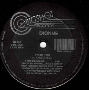 12inch - Dionne Your Lies
