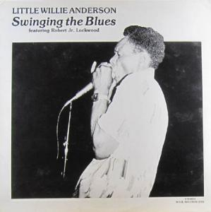 LP - Little Willie Anderson Swinging The Blues