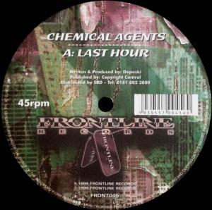 12inch - Chemical Agents Last Hour / Alpha