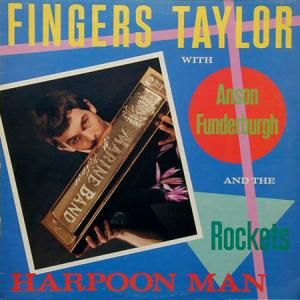 LP - Fingers Taylor With Anson Funderburgh & The Rockets Harpoon Man