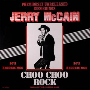 LP - McCain, Jerry Choo Choo Rock