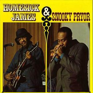 LP - Homesick James & Snooky Pryor Homesick James & Snooky Pryor