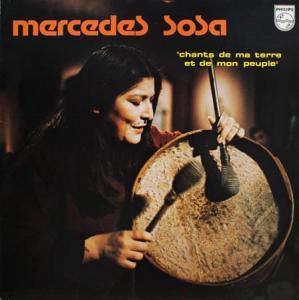 LP - Sosa, Mercedes Chants De Ma Terre Et De Mon Peuple