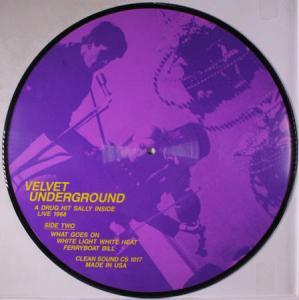LP - Velvet Underground A Drug Hit Sally Inside Live 1968