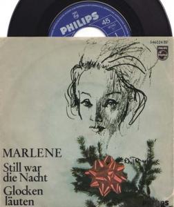 7inch - Dietrich, Marlene Still War Die Nacht / Glocken L