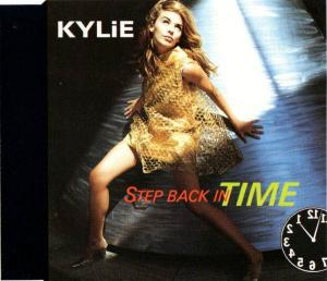 CD:Single - Minogue, Kylie Step Back In Time