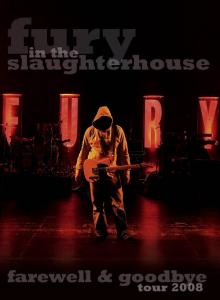 2CD - Fury In The Slaughterhouse Farewell & Goodbye Tour 2008 - Bonus DVD version