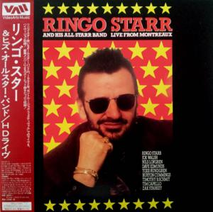 Laserdisc - Ringo Starr And His All Starr Band Live From Montreaux