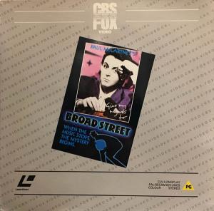 Laserdisc - McCartney, Paul Give My Regards To Broad Street