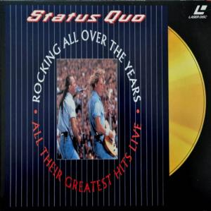 Laserdisc - Status Quo Rocking All Over The Years - All Their Greatest Hits Live