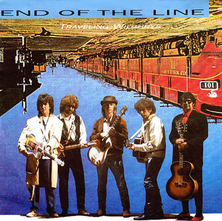 7inch - Traveling Wilburys End Of The Line 0
