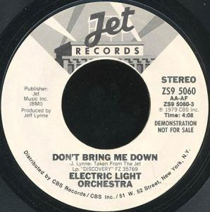 7inch - Electric Light Orchestra Don't Bring Me Down