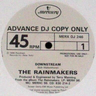LP - Rainmakers, The Downstream - Promo 0