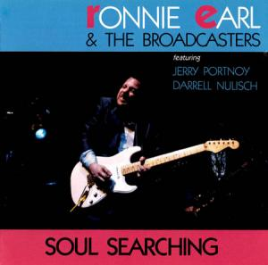 LP - Ronnie Earl & The Broadcasters Soul Searching