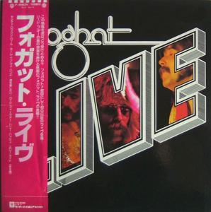 LP - Foghat LIVE