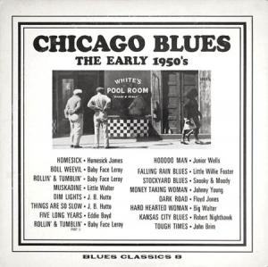 LP - Various Artists Chicago Blues - The Early 1950's