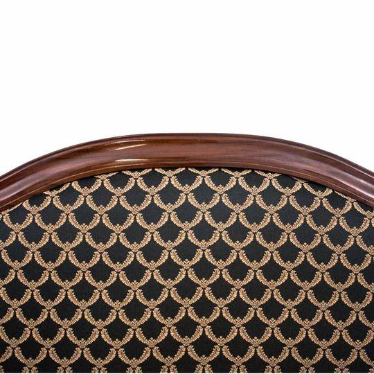 Dieses Produkt ist nur einmal verfügbar. Versand ist kostenlos.  Antikes Sofa - Chaiselongue vom Anfang des 20. Jahrhunderts. Die Möbel sind in sehr gutem Zustand, nach professioneller Renovierung wurde die Chaiselongue mit einem neuen Stoff bezogen... 1