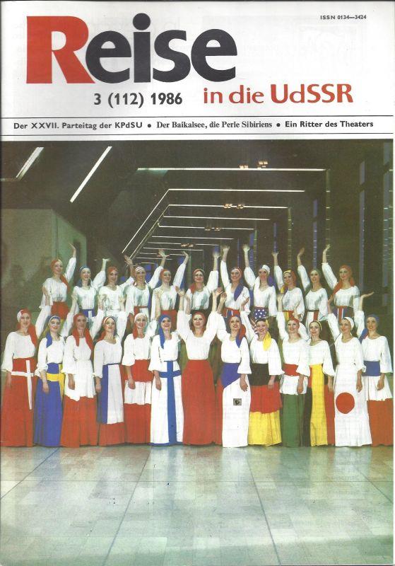 Journal: Reise in die UdSSR, Der Baikalsee die Perle Sibiriens, 3-112, 1986