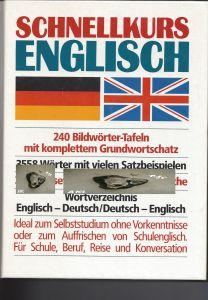 Buch: Schnellkurs Englisch, 240 Bildwörter Tafeln