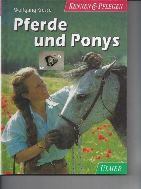 Buch: Pferde und Ponys, Wolfgang Kresse