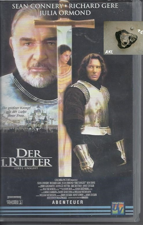 Der 1. Ritter, first knight, VHS Kassette