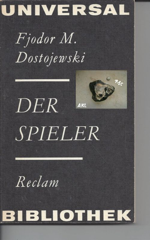 Heft: Der Spieler, Dostojewski Fjodor M., Reclam