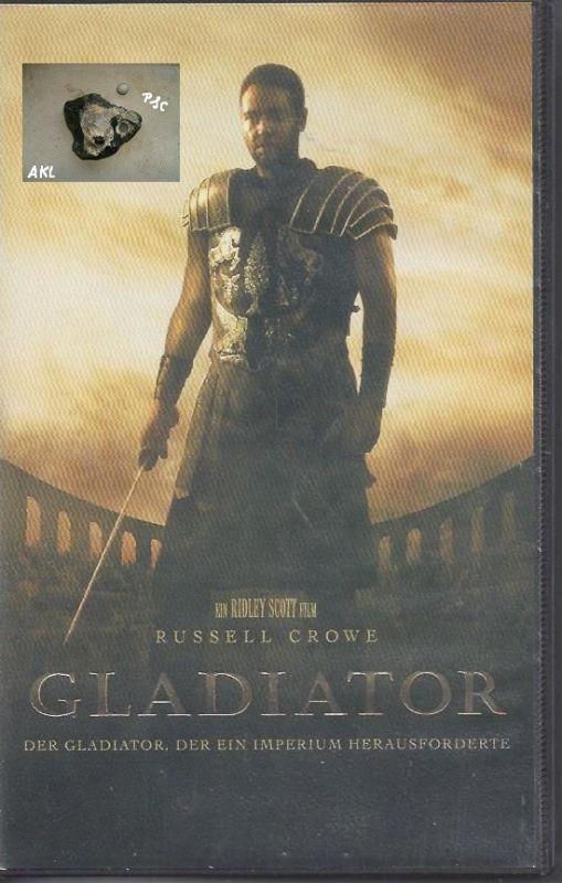 Gladiator, der ein Imperium herausforderte, VHS