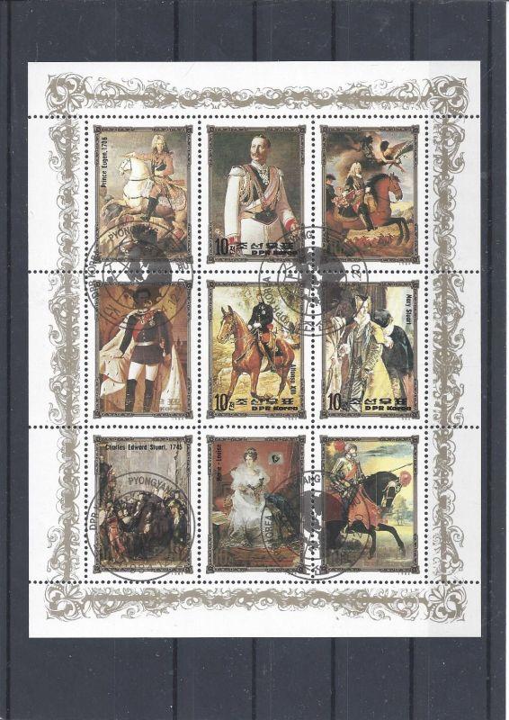 Briefmarken, Block, Ausland, Persönlichkeiten, Geschichte, DPR
