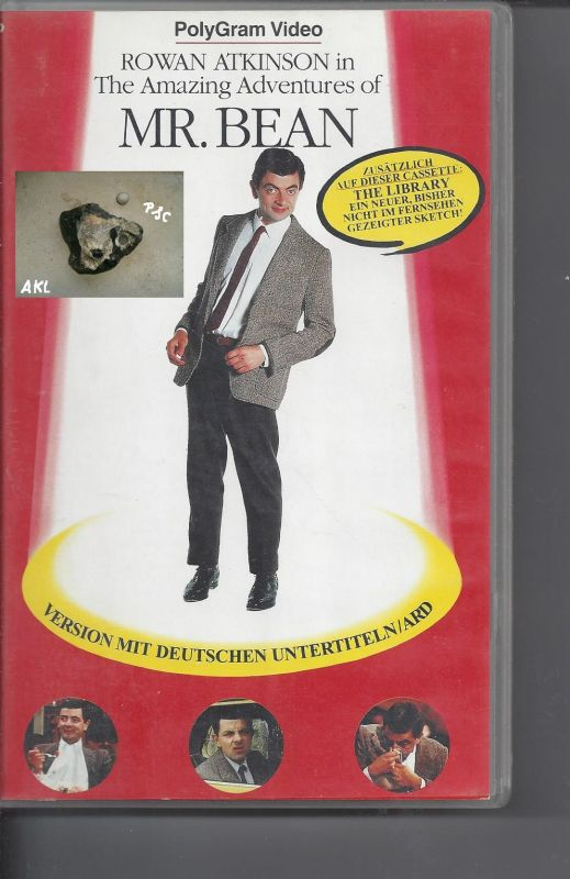 Mr. Bean, The amazing adventues of Mr. Bean, VHS