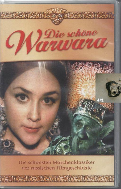 Die schöne Warwara, VHS Kassette