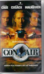 Con Air, Diesen Flug werden Sie nie vergessen, VHS