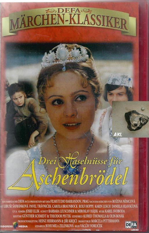 Drei Haselnüsse für Aschenbrödel, Defa, VHS
