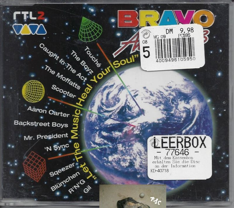 Bravo all stars, Let the music heal your soul, CD Single
