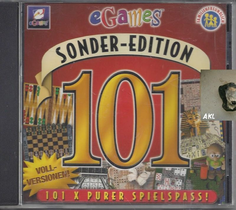 Sonder Edition, eGames, 101 x purer Spielspass, Vollversion, CD
