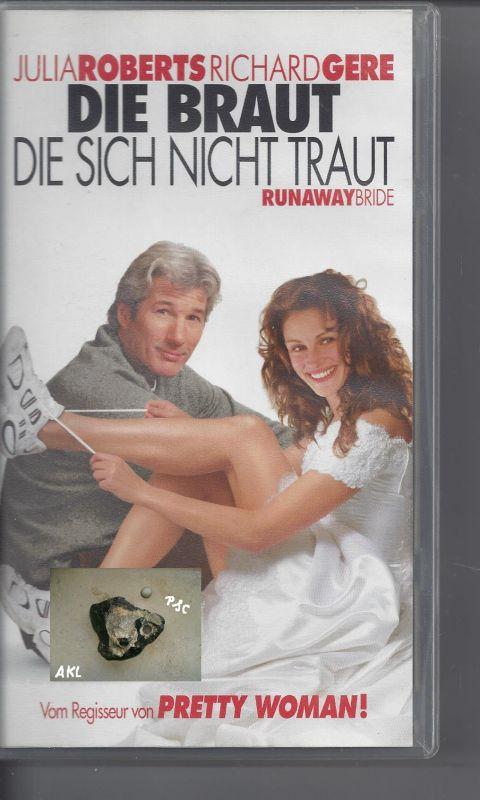 Die Braut die sich nicht traut, Julia Roberts, Richard Gere, VHS