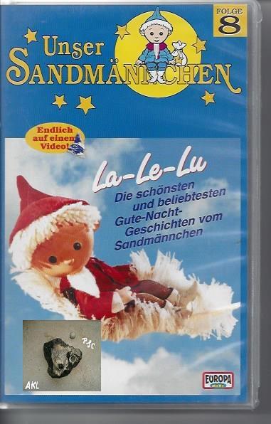 La La Lu die schönsten Gute-Nacht-Geschichten vom Sandmännchen, VHS