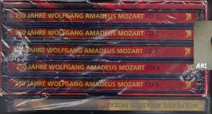 250 Jahre Wolfgang Amadeus Mozart, 6 CDs
