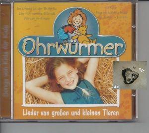 Ohrwürmer, Lieder von großen und kleinen Tieren, CD