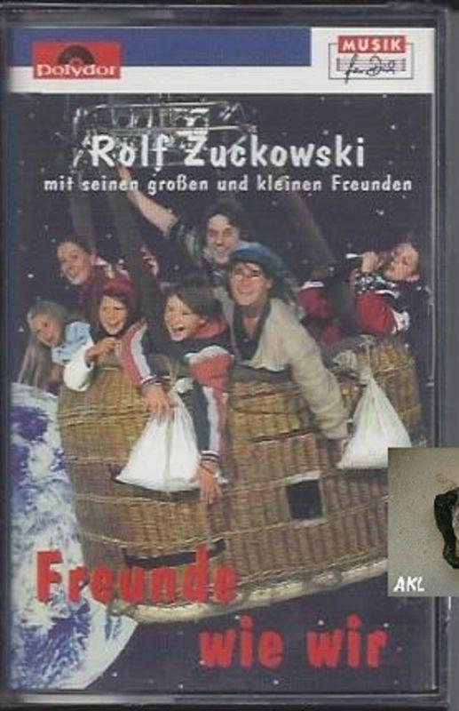 Rolf Zuckowski, Freunde wie wir, Kassette, MC