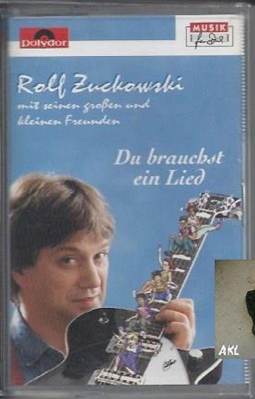 Rolf Zuckowski, Du brauchst ein Lied, Kassette, MC