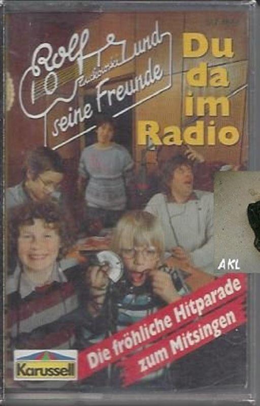 Du da im Radio, Rolf Zuckowski, Kassette, MC