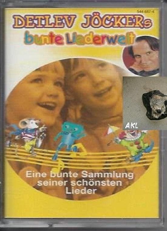 Detlef Jöckers bunte Liederwelt, Kassette, MC