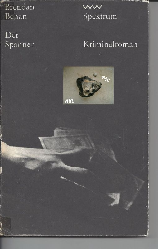 Der Spanner, Kriminalroman, Behan Brendan, Spektrum
