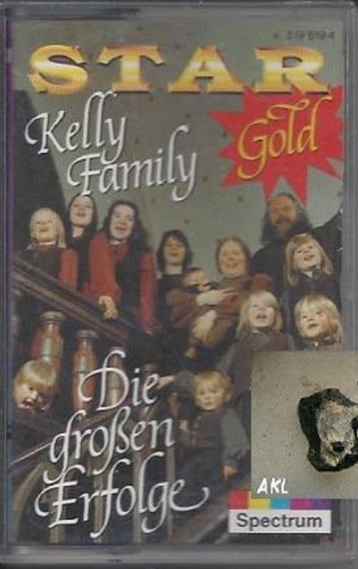 Kelly Family, Die großen Erfolge, Star Gold, Kassette, MC