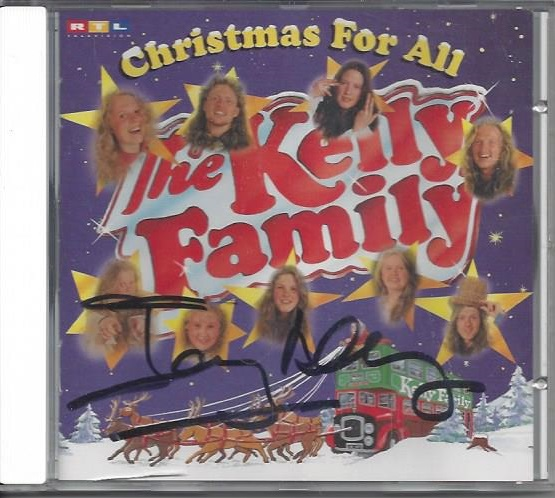 The Kelly Family, Christmas for all, signiert, CD