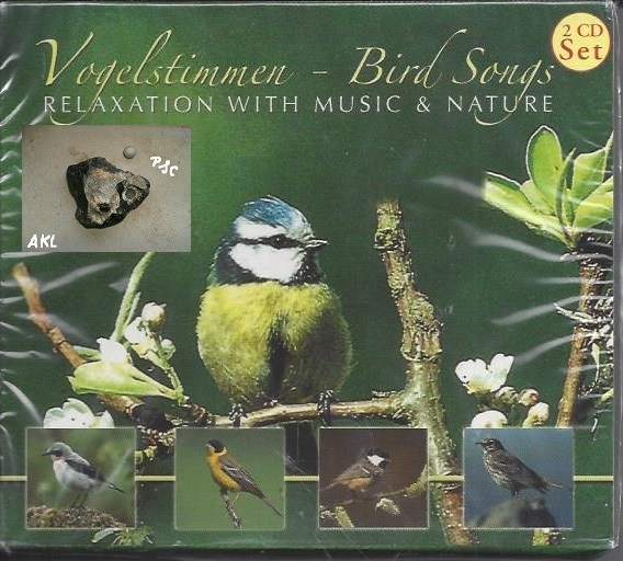 Vogelstimmen, Bird songs, Relexation with music and nature, CD
