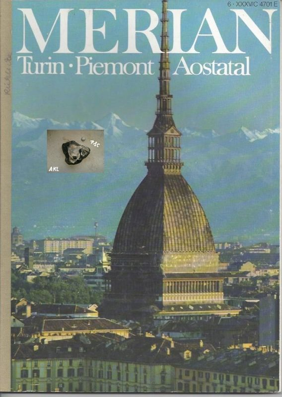 Merian, Turin, Piemont, Aostatal, Bildband